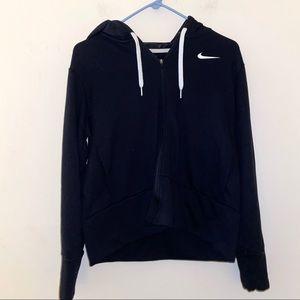Nike dri fit kids M black hoodie oversized ? L